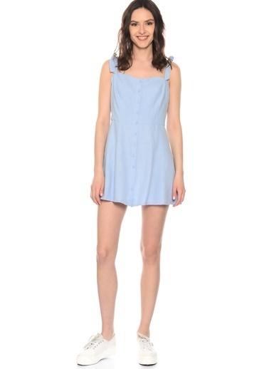 Glamorous Elbise Mavi